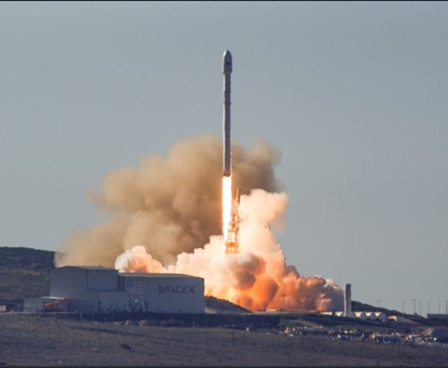 Iridium Satellite Launch
