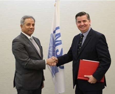 Iridium sign GMDSS agreement with IMSO