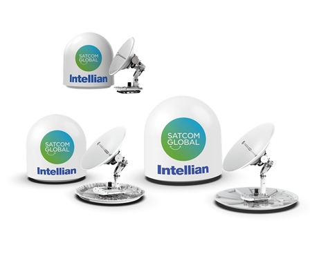 Intellian v85NX, v100NX and v130NX